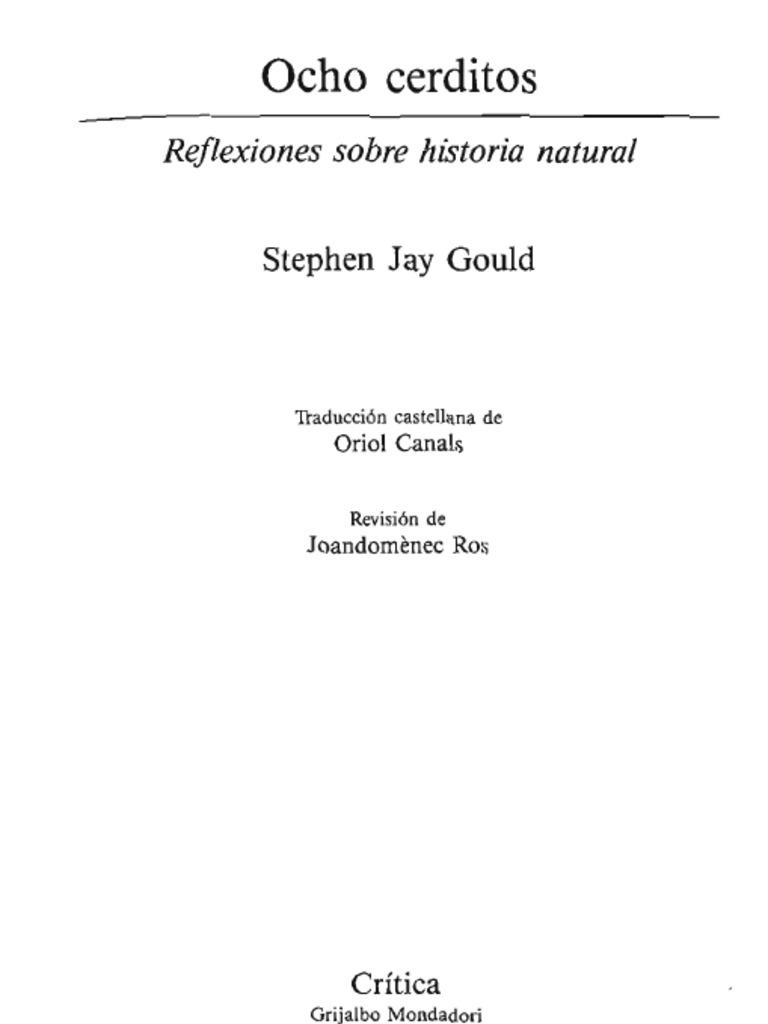 Ocho cerditos - Gould