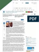 10 Differences Between Jan Lokpal Bill and Govt Bill - IBNLive.com