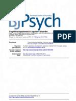 Deterioro Cognitivo en Bipolar II