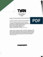 Tyan Trinity 510 Motherboard Manual
