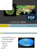 A Face Da Terra. Continentes e Fundos Oceânicos