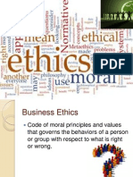 Ethics and CSR of Business