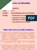 clase 1 Introducción a la informática