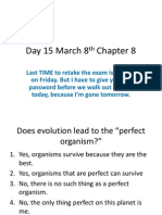 Day 15 March 8th Chapter 8