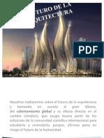 Futuro de La Arquitectura