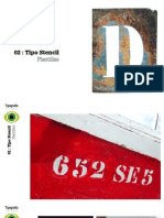Taller de tipografía creativa 02 stencil