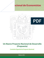 CNE Un Nuevo Proyecto Nacional de Desarrollo La Propuesta
