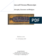 Arabic, Persian and Ottoman Manuscripts