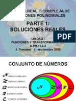 PARTE 1 Solucion Real o Compleja Ecuacion Polinomica Version Blog