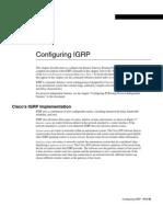 Configuring IGRP