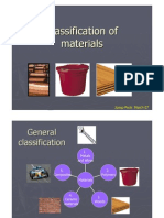 Materials´ Classification