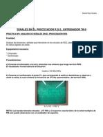 Práctica nº 16 - Señales en el procesador RDS entrenador TR-9 -