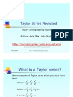 Error in Taylor Series