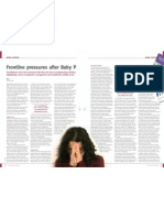 Frontline pressures after Baby P, Community Practitioner June 2009, by Kin Ly