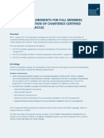 ACCA Information Sheet