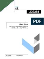 Ic Spec Lds285