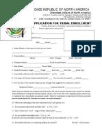 Cherokee Standard Application