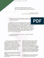 TRATAMENTO E ORGANIZAÇÃO DE INFORMAÇÕES DOCUMENTÁRIAS EM MUSEUS