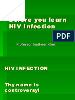 Before You Learn HIV Infection