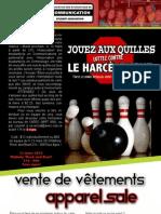 Communiqué AÉÉC - Mars 2012