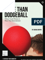 More Than Dodgeball - by Joshua Griffin