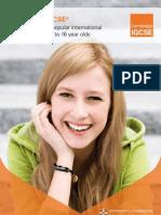 IGCSE Brochure