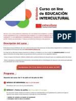 Curso Online Educación Intercultural
