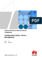 Configuration Guide - Device Management(V100R006C00_02)