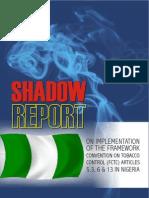 Shadow Report Nigeria 2012