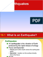 Chapter 19 Earthquakes