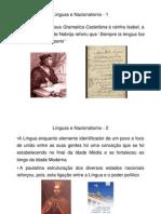 2 Línguas e Nacionalismo
