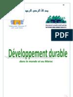 Développement durable dans le monde et au Maroc