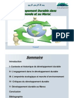 Developpement Durable PPT