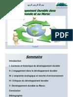 Developpement Durable PPT