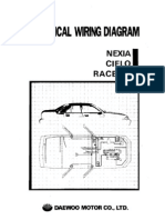 Daewoo Service Electrical Manual