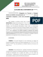 Escrito Modelo Recurso de reposición Pactos y Acuerdos Funcionarios