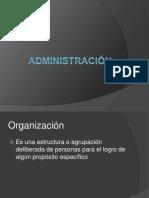 administración e historia