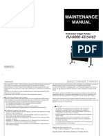 Mutoh - RJ6000 43/54/62 MAINTENANCE MANUAL