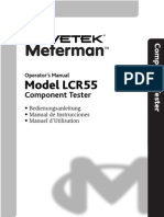 LCR55 Manual