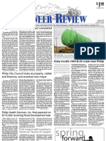 Pioneer Review, March 8, 2012
