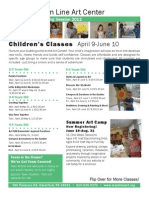 Spring 2012 Children's Programs at a Glance
