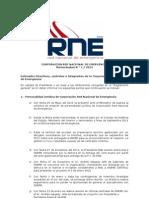 Memorandum N1-RNE-2012