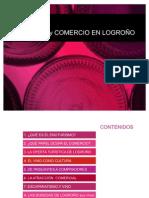 Enoturismo y comercio en Logroño