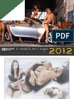 Be Magazine Official Calendar 2012