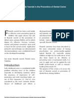 The Rule of Fluoride Varnish in the Prevention of Dental Caries Among Children