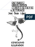 Animal fabuloso de veintisiete letras de José Óscar López