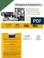 2012 Volunteer Management Training Series