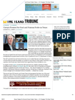 Cornyn Presses For Fast and Furious Probe in Texas — U