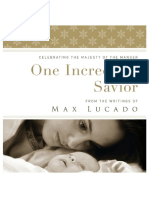 One Incredible Savior - Celebrating the Majesty of the Manger - Sample