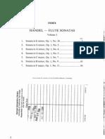 Handel-Flute Sonatas v1
